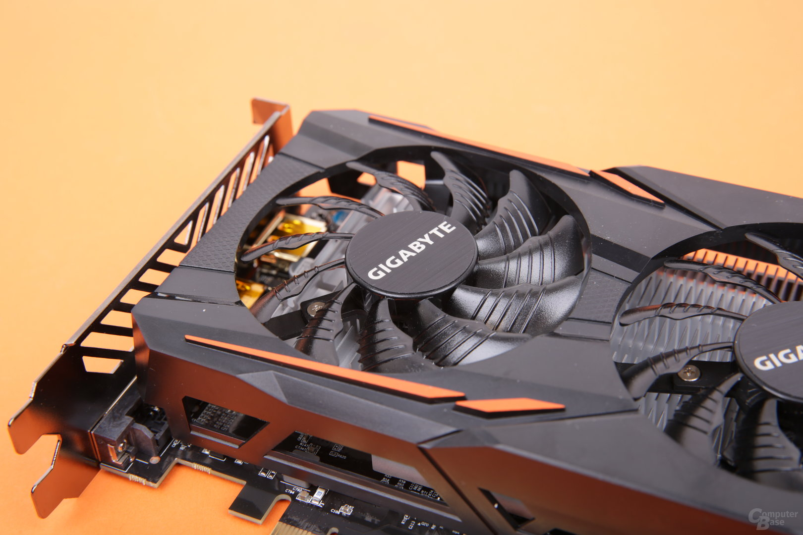 Gigabyte GeForce GTX 1050 3GB Windforce – Lüfter