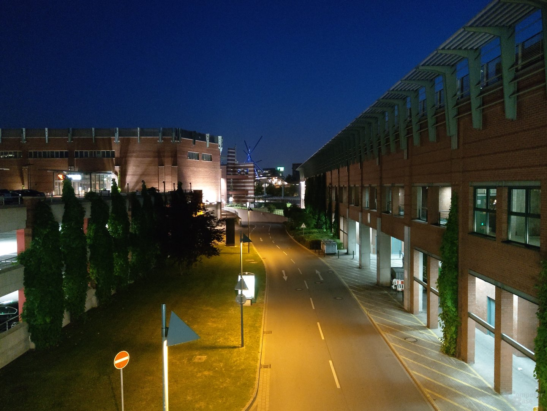 HTC U12+ im Test – Nachtaufnahme
