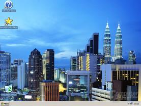 Malaysia-Desktop in der Starter Edition