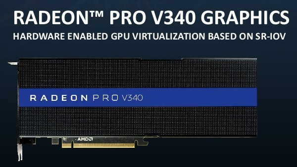 AMD Radeon Pro V340: Vega 10 im Doppelpack liefert 32 GB HBM2 für Profis