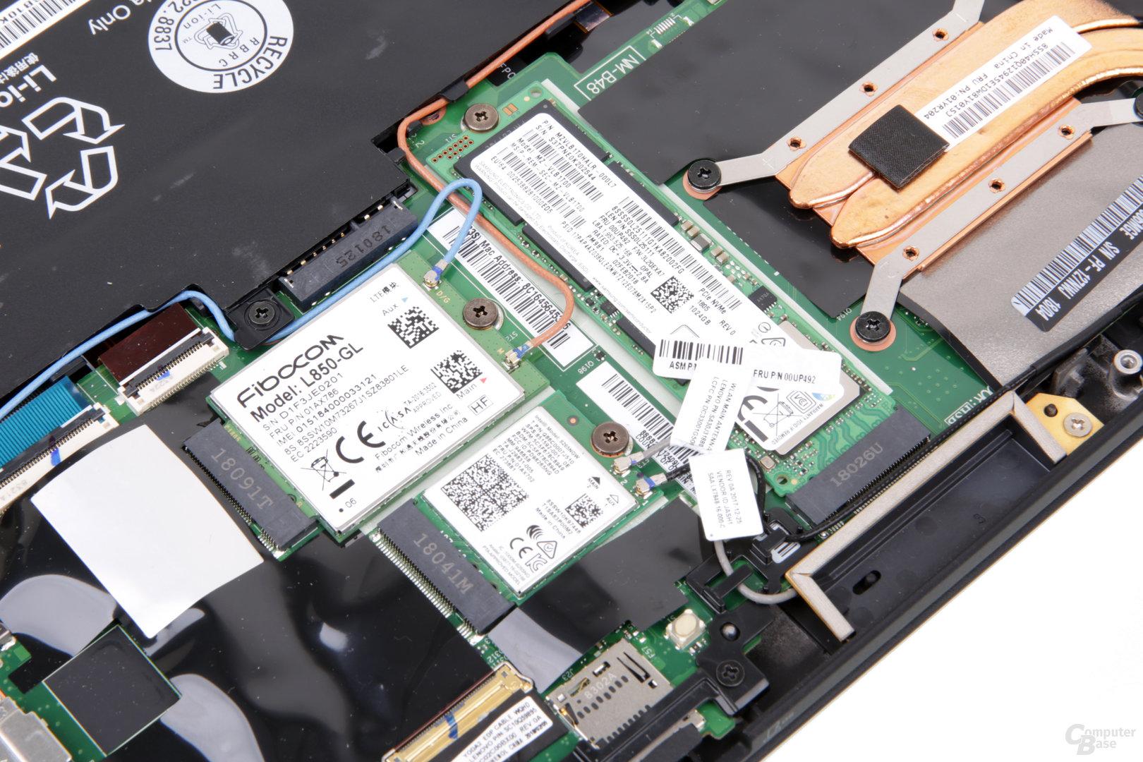 Das LTE-Modul von Fibocom kommt mit XMM-7360-Modem von Intel