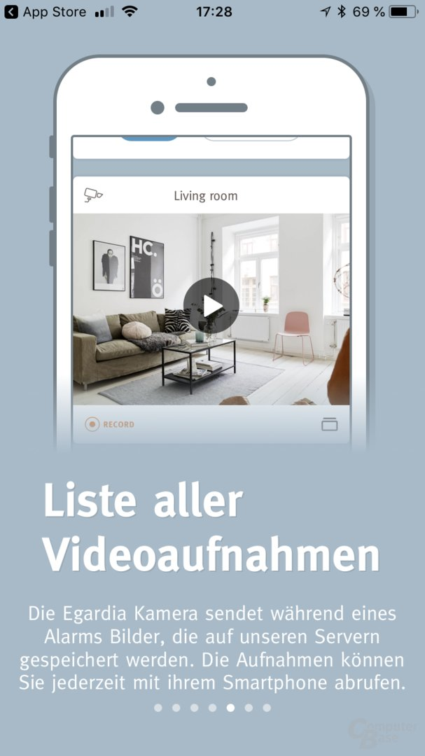 egardia alarmanlage mit philips hue im test computerbase. Black Bedroom Furniture Sets. Home Design Ideas