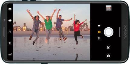 UI der neuen Moto Camera 2
