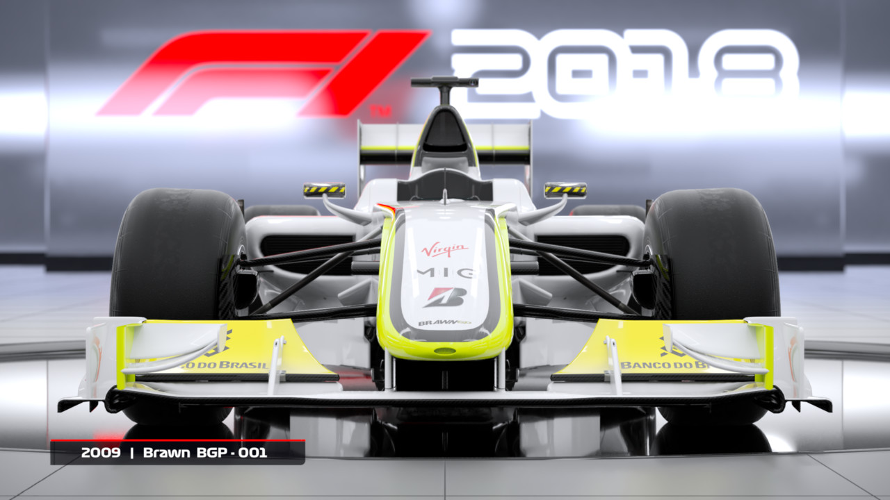 F1 2018: Headline Edition kommt mit zwei vorerst exklusiven Autos