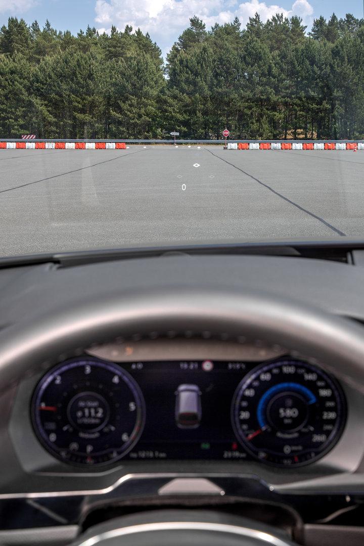 Ansicht für den Fahrer