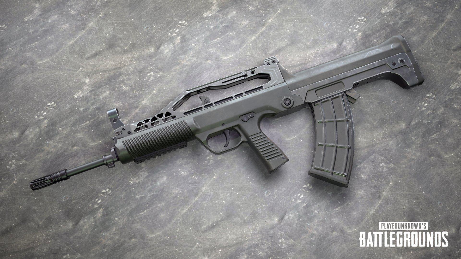 Sanhok-exklusives Assault Rifle: QBZ95
