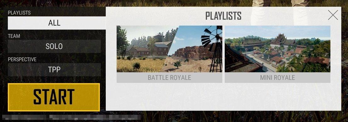 Eingeschränkte Map-Auswahl ab Update 15