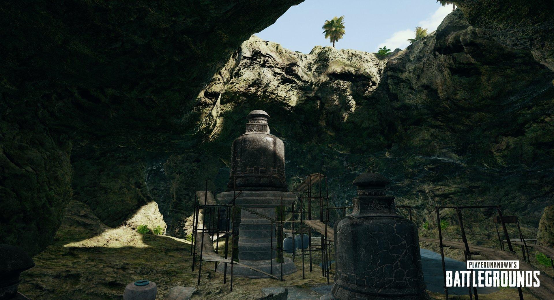 Sanhok –  Höhlen