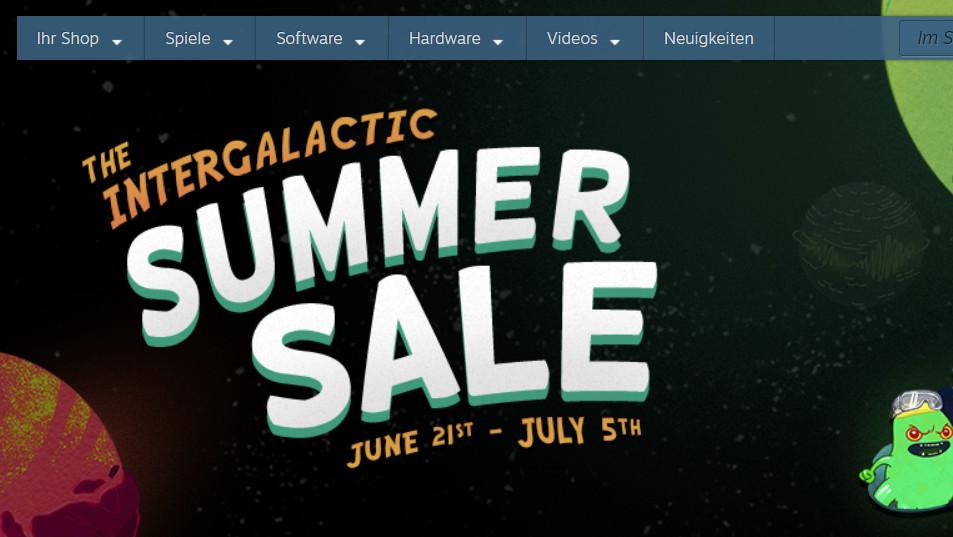 Summer Sale: Steam lockt wieder mit sommerlichen Angeboten