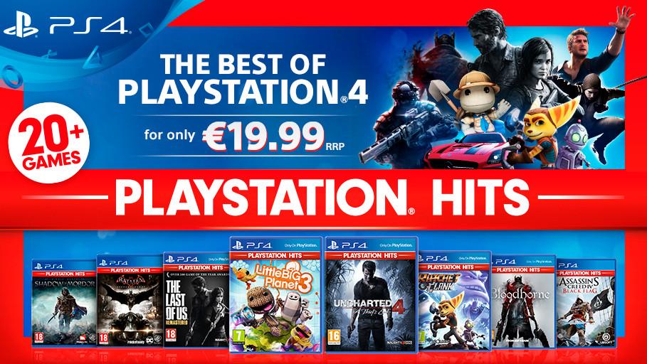 PlayStation Hits: Sony senkt Preise für ausgewählte beliebte Spiele