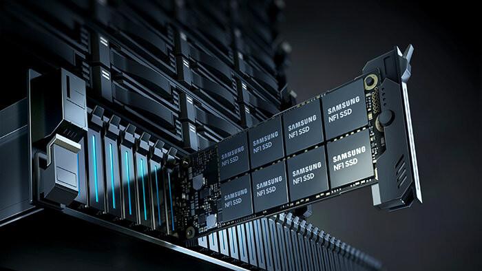 Samsung PM983: NF1/M.3-SSD mit 8 TB 3D‑NAND und 12 GB DRAM