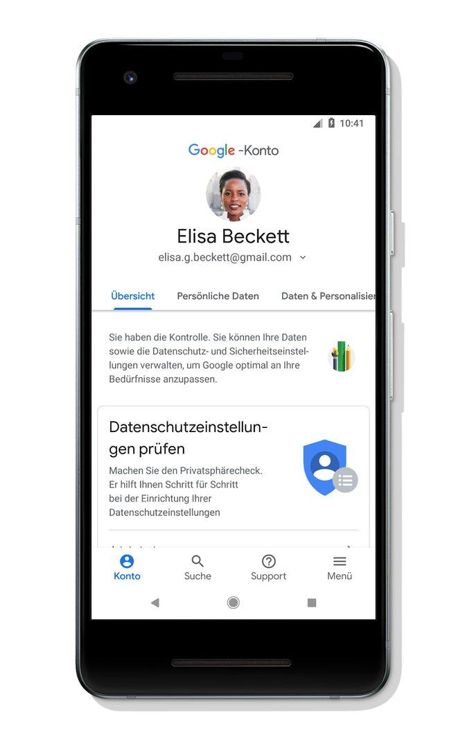 android daten sichern google konto