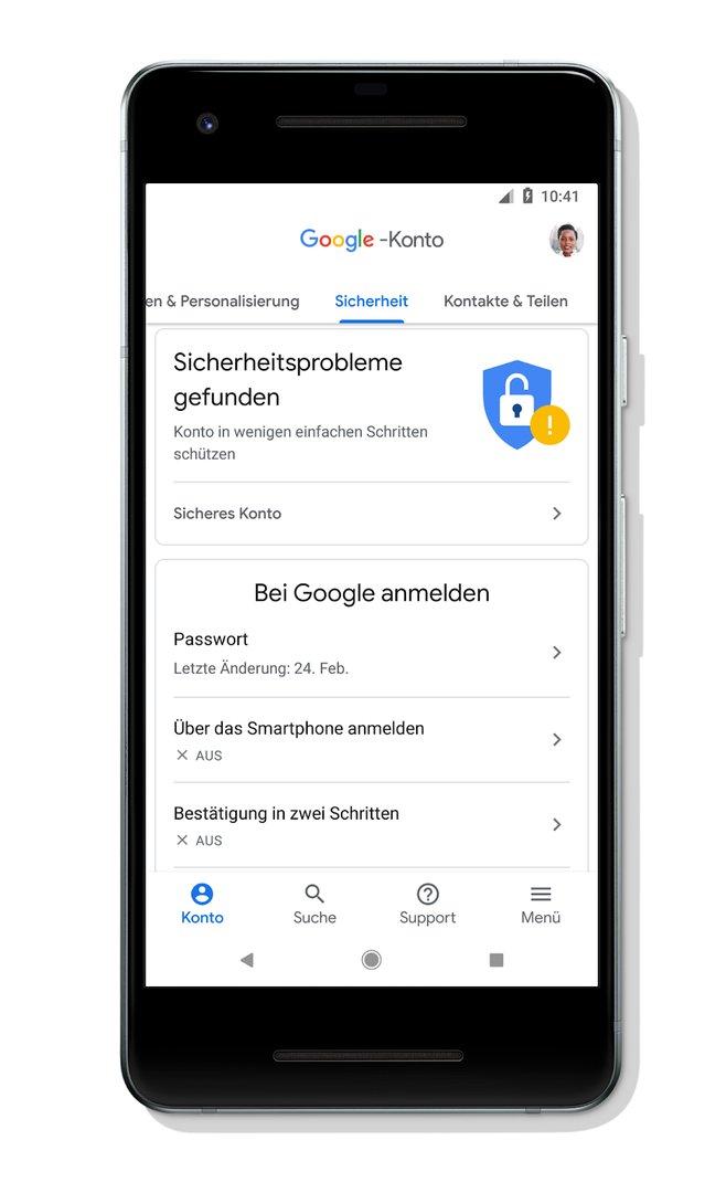 Google-Konto: Sicherheit