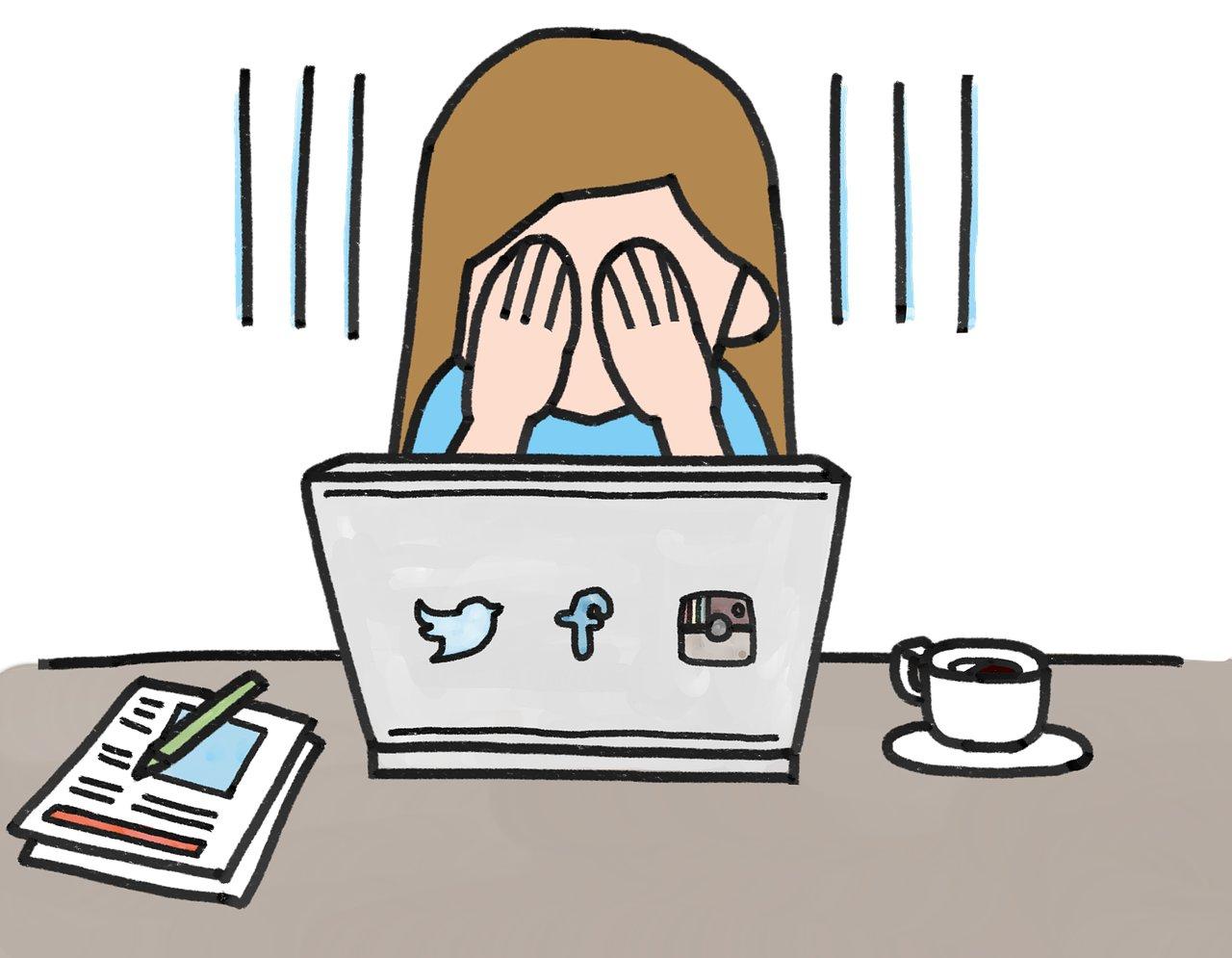 Die Nutzung sozialer Medien ist nicht uneingeschränkt erfreulich.