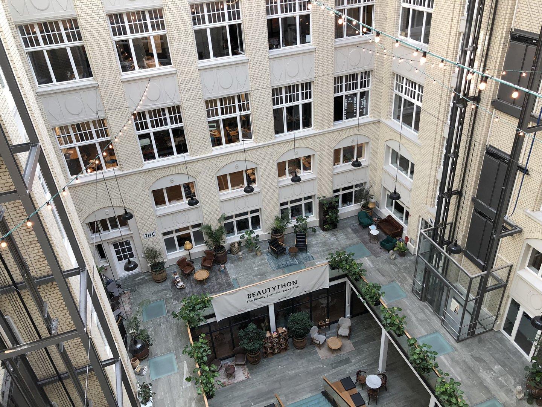 Innenhof des Standorts in Berlin-Mitte