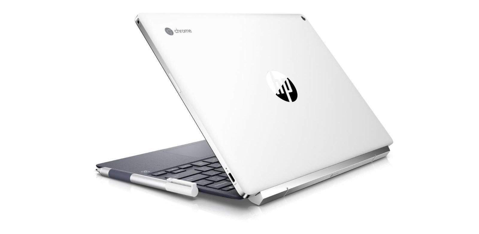 Das HP Chromebook X2: Rückansicht