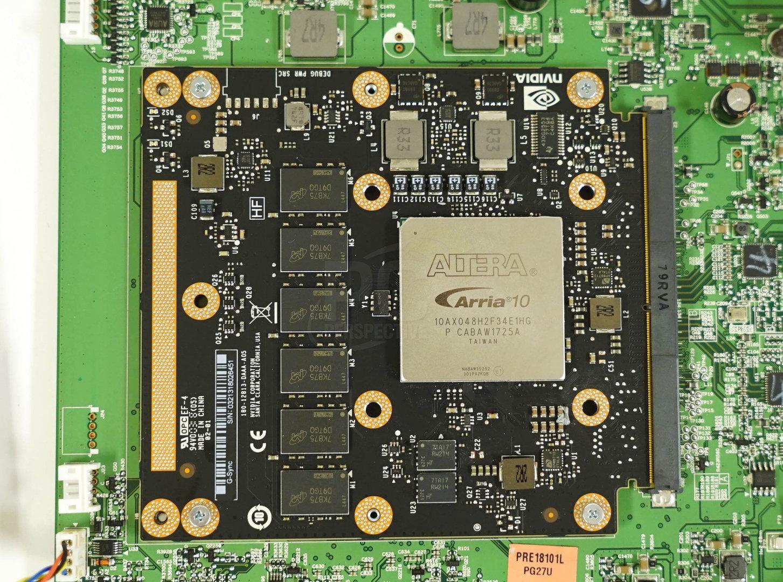 Das neue G-Sync-Modul mit teurem FPGA