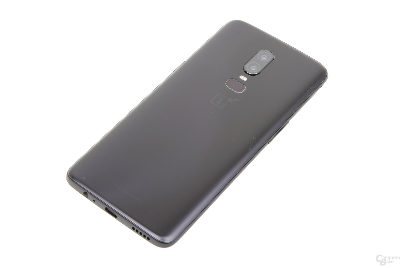 OnePlus 6 in mattem Midnight Black