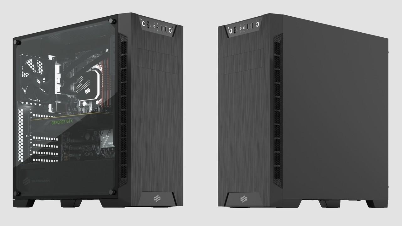 SilentiumPC Armis AR3: Midi-Tower mit und ohne Glas & RGB