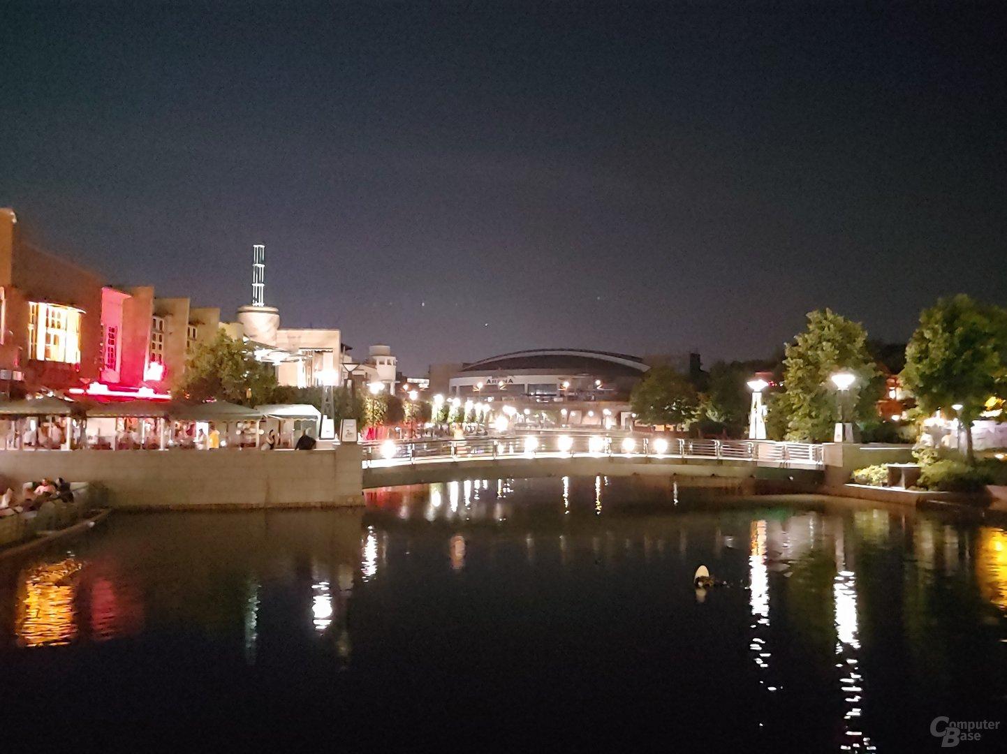 """LG G7 ThinQ – Nachtaufnahme mit """"superheller Kamera"""""""