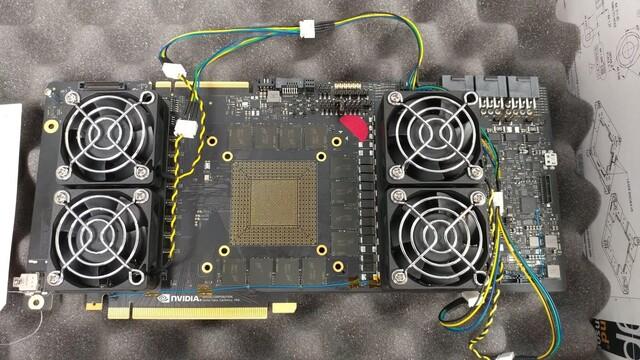Nvidia-Prototyp mit GDDR6-Speicher