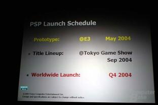 PSP Pressepräsentation
