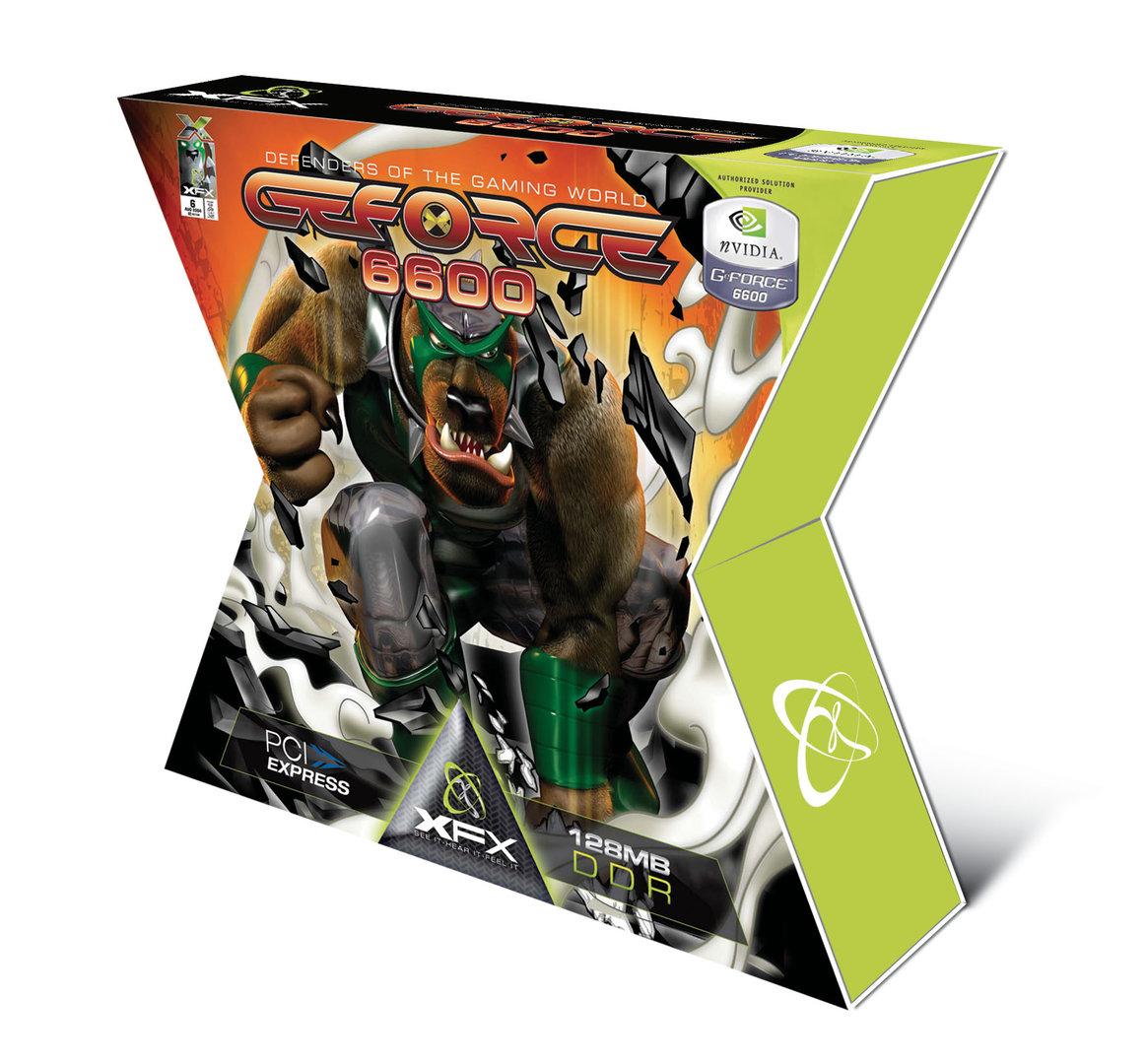 Verpackung der GeForce 6600
