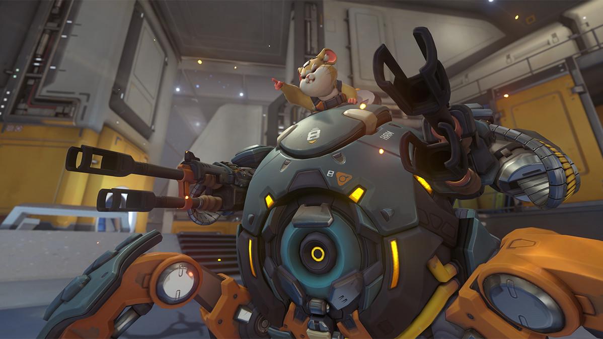 Wrecking Ball: Ein Mecha-Hamster wird neuer Held in Overwatch