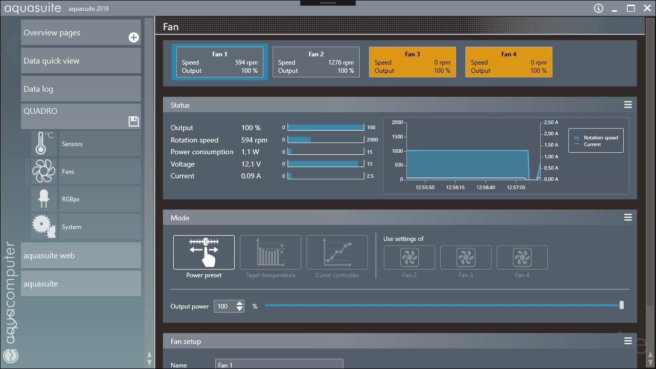 Aqua Computer Aquasuite: Die Software-Plattform zur Steuerung des Quadro