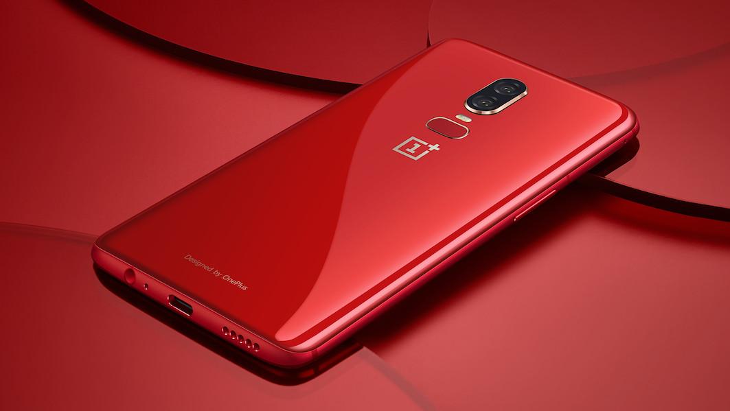 Neue Farbe: OnePlus 6 ab nächster Woche in Rot erhältlich