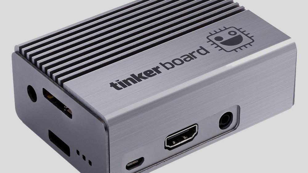 Einplatinenrechner: Asus bringt für TinkerBoard passendes Gehäuse