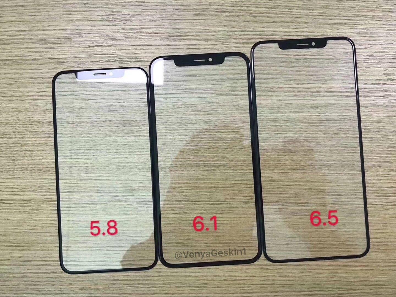 Glasabdeckungen der neuen iPhone-Generation