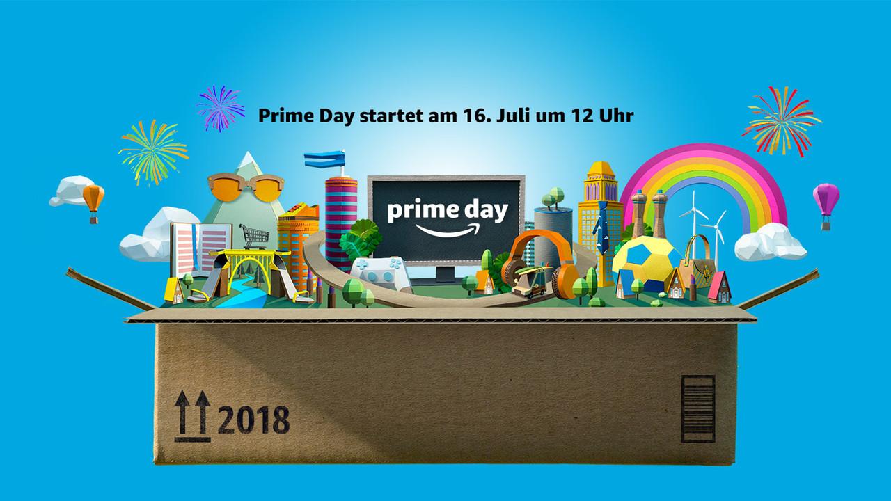 Amazon Prime Day 2018: 36 Stunden lang Angebote für Abonnenten