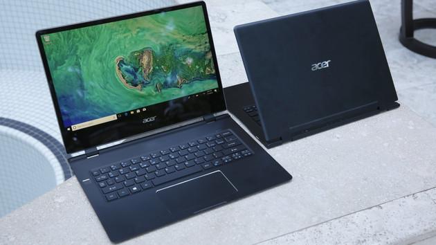 Acer Swift 7 2018: Dünnstes Notebook der Welt nach 6 Monaten verfügbar