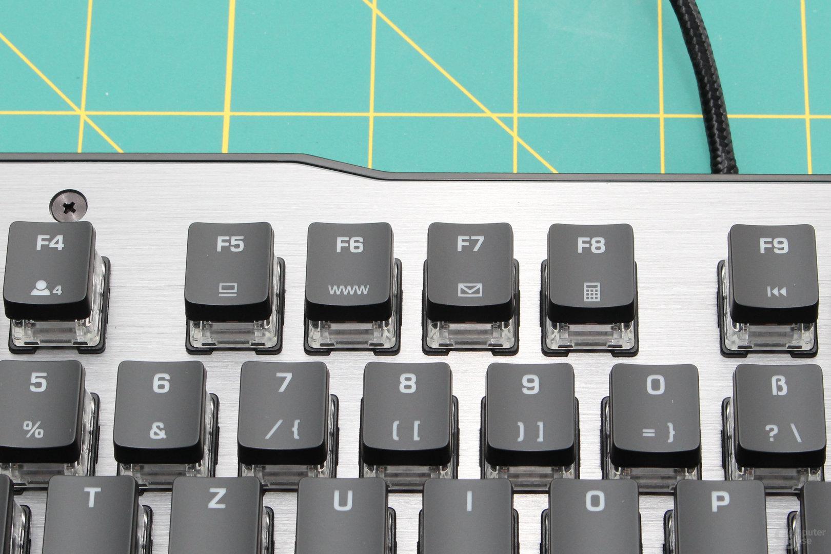 Füllwerk: Verknüpfungen zu Browser und Co (F5 bis F8)