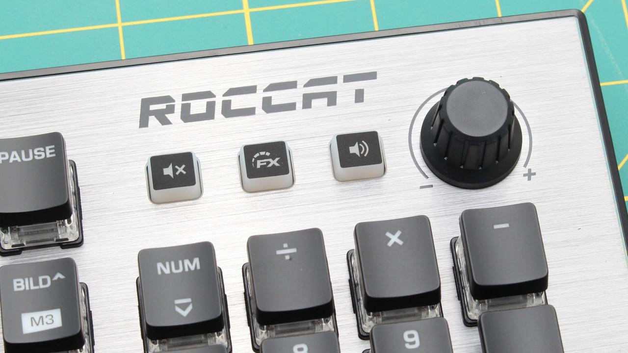 Roccat Vulcan 120 Aimo im Test: Titan-Taster sind keine Kopie von Cherry MX