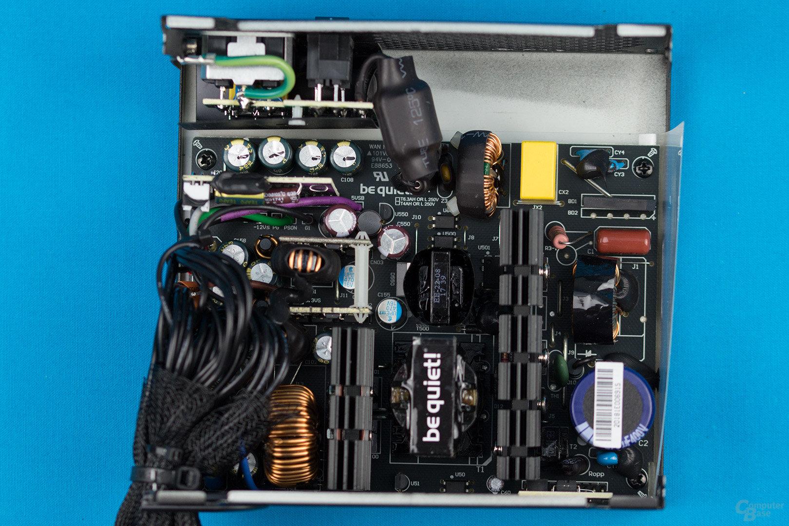 be quiet! System Power 9 400W – Übersicht Elektronik