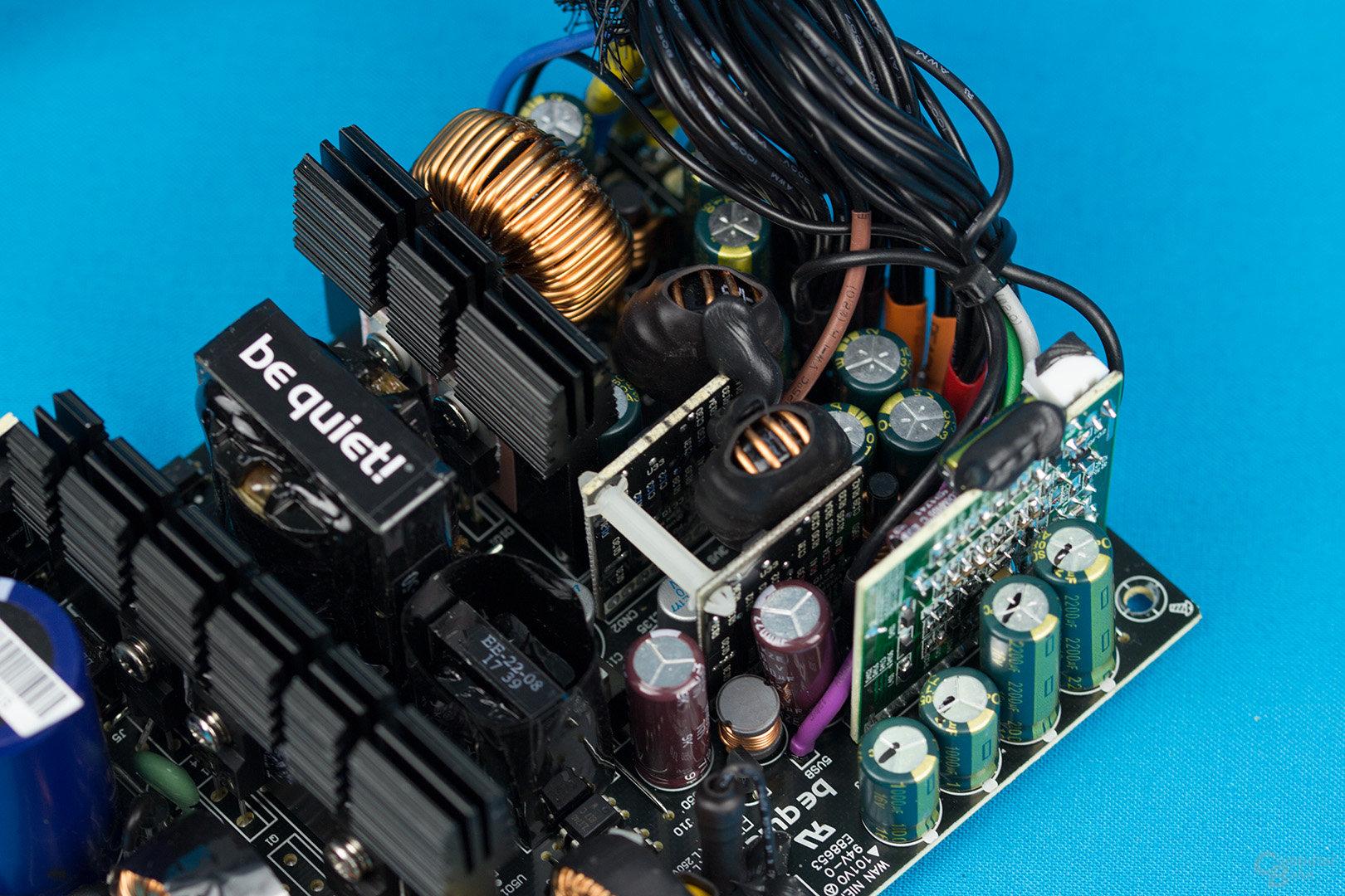 be quiet! System Power 9 400W – Sekundärseite