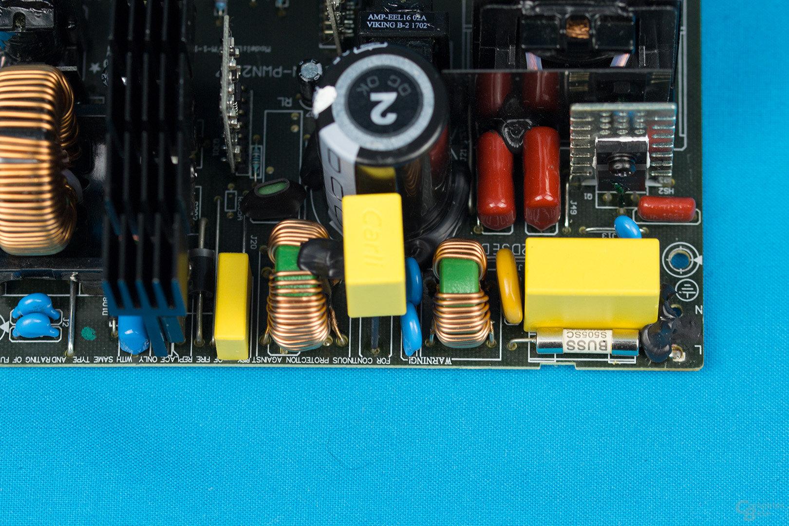 EVGA B3 550W – Eingangsfilter