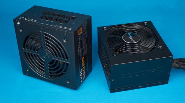 be quiet! S9 und EVGA B3 im Test: 80Plus-Bronze-Netzteile mit Minimal- und Vollausstattung
