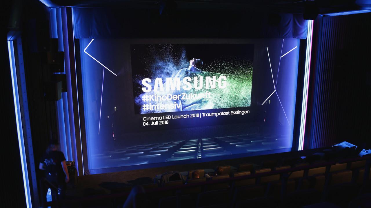 Cinema LED angeschaut: Samsung ist die neue Referenz im Kino