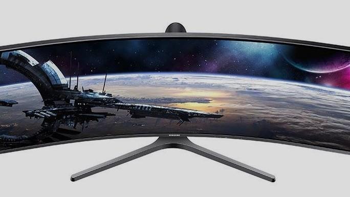 Samsung C43J89: Ultrabreit-Monitor der kleineren Sorte hat mehr Pixel