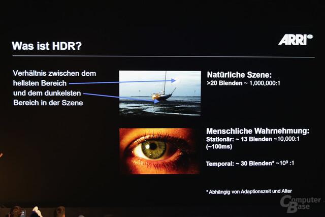 HDR erklärt von dem Kinofilmausrüster Arri