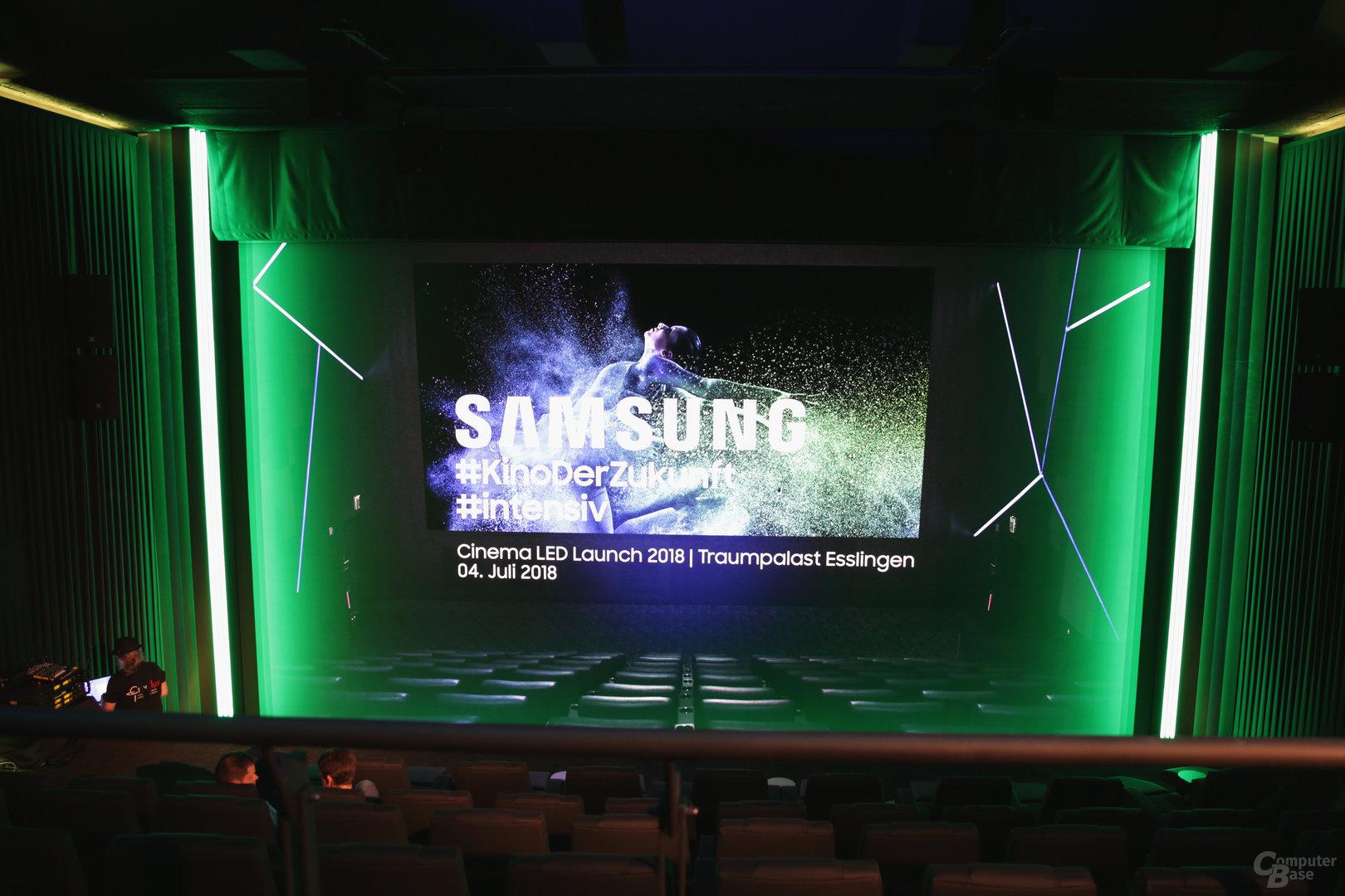 Der Cinema-LED-Saal im Traumpalast Esslingen