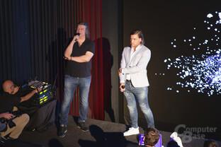 Kinobetreiber Heinz und Marius Lochmann