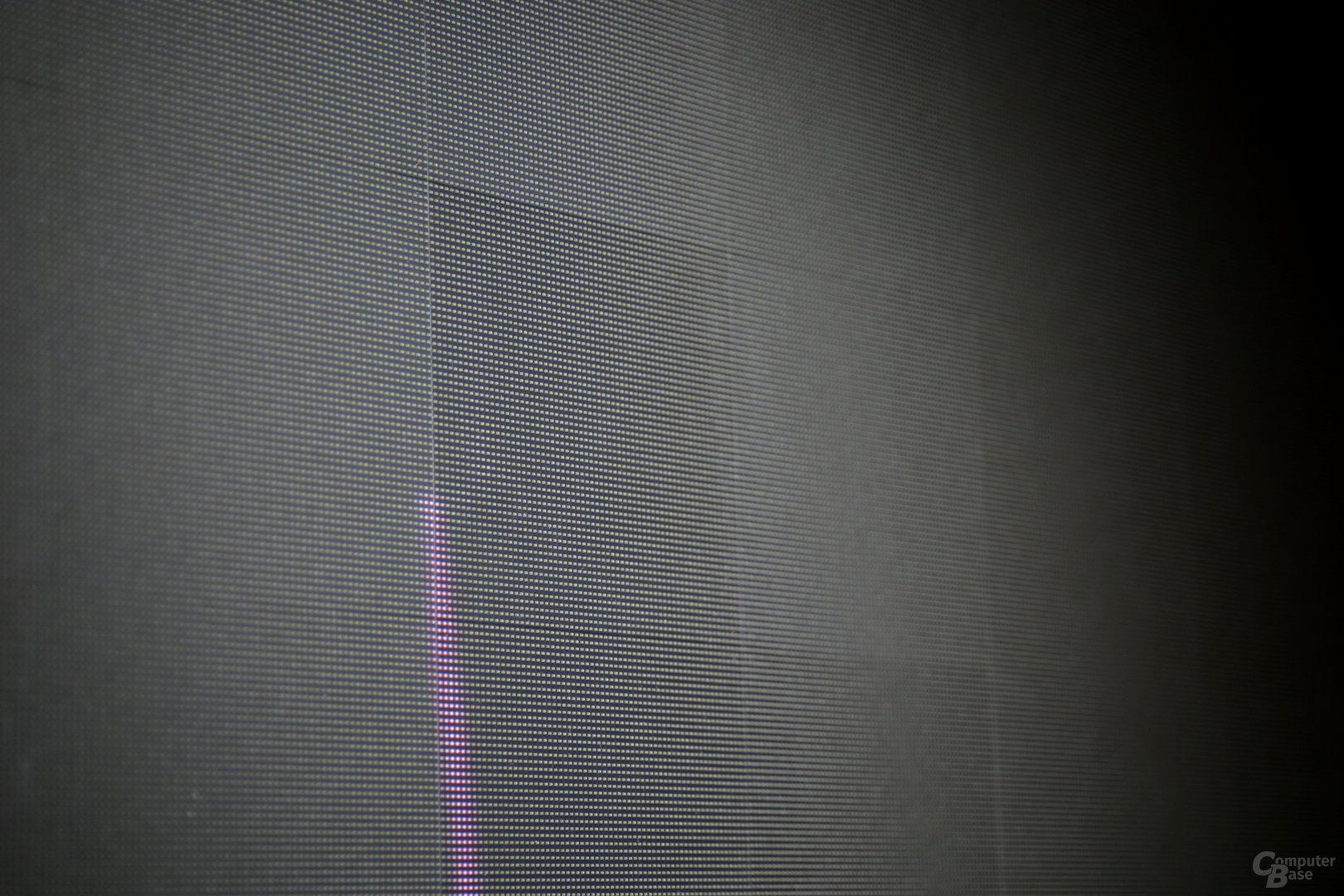 Submodule der LED-Bildwand im ausgeschalteten Zustand