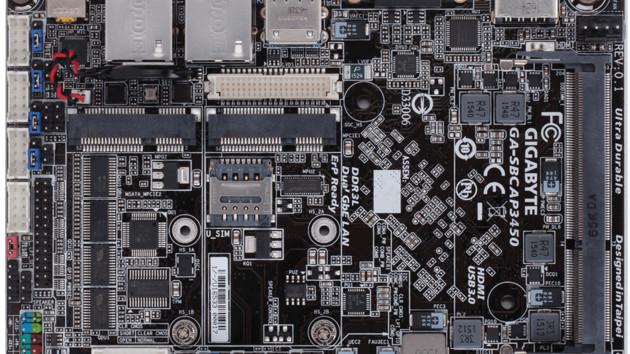 Gigabyte GA-SBCAP3450: Einplatinencomputer bekommt vier Kerne