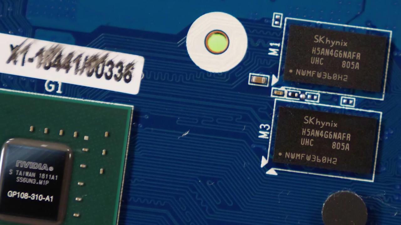 GeForce GT 1030: DDR4 statt GDDR5 halbiert die Leistung im Benchmark