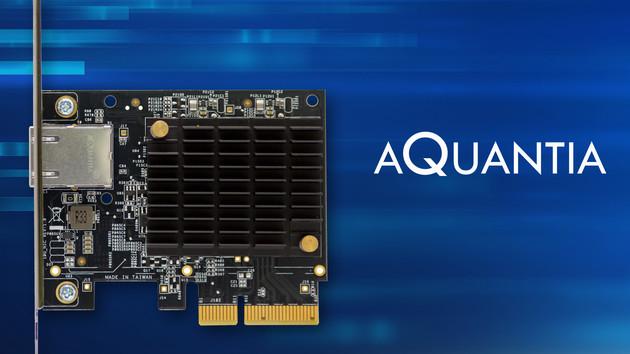 AQtion AQN-107: 10-Gbit-Netzwerkkarte für Spieler kostet 90 US-Dollar