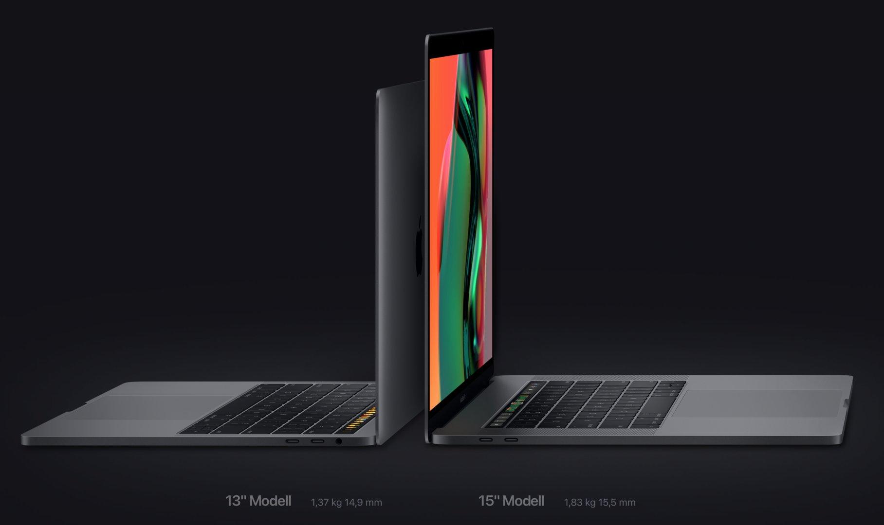 Das neue MacBook Pro mit Touch Bar